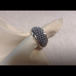 Michael Dawkins Jewelry - Michael Dawkins Sterling Beaded Ring